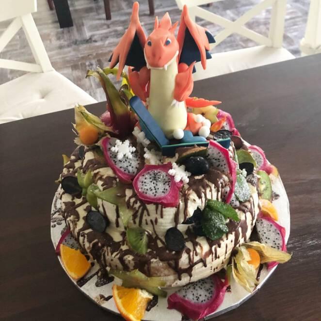 Justyna Żyła zrobiła tort dla Piotrka