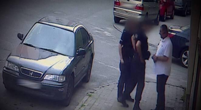 Koszalin Taksówkarz pobity przez policję