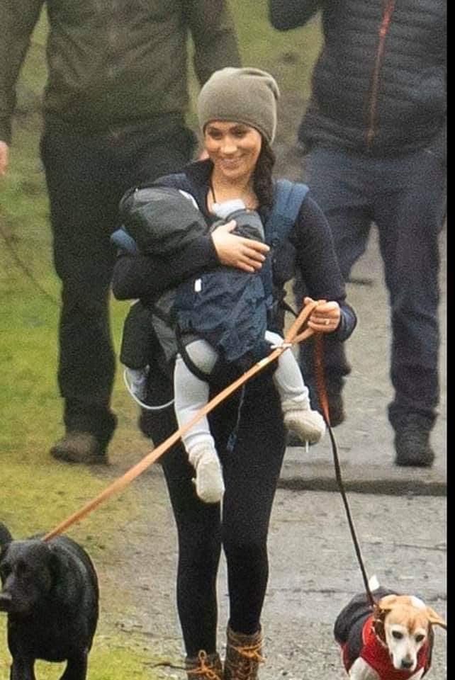 Markle nie umie nosić dziecka