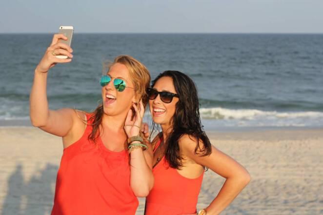 Modelka zginęła robiąc selfie