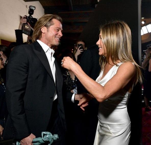 Pitt i Aniston znów razem