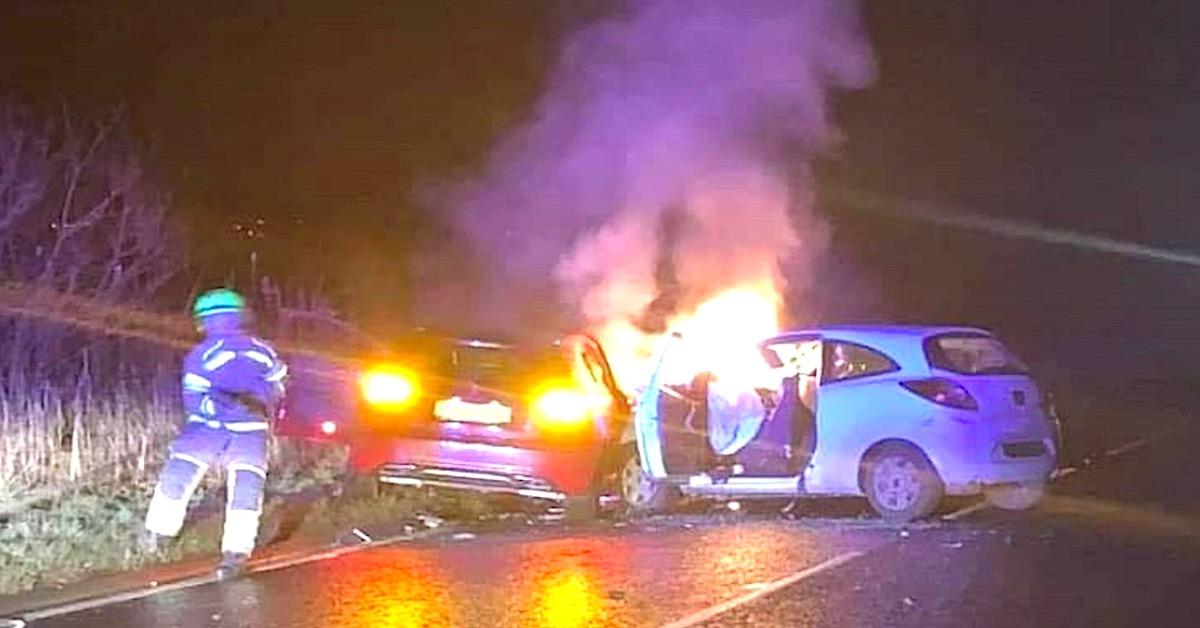 Polki uratowały ofiary wypadku