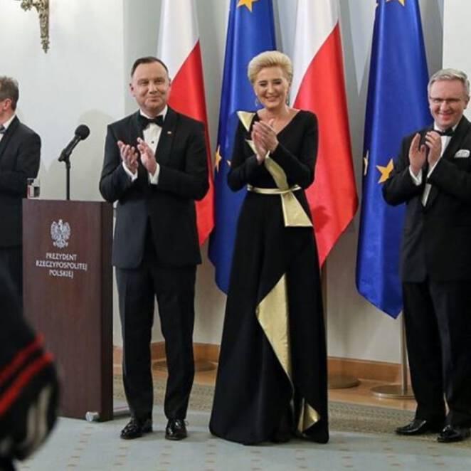 Agata Duda spotkanie z korpusem dyplomatycznym