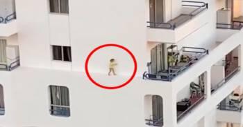 Przerażające nagranie z hotelu