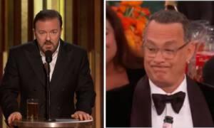 Ricky Gervais skrytykował Hollywood