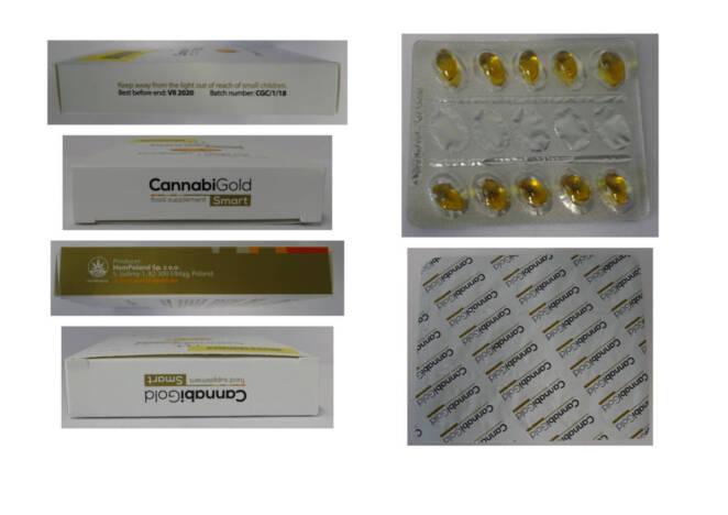 Substancje psychoaktywne wykryte w suplemencie