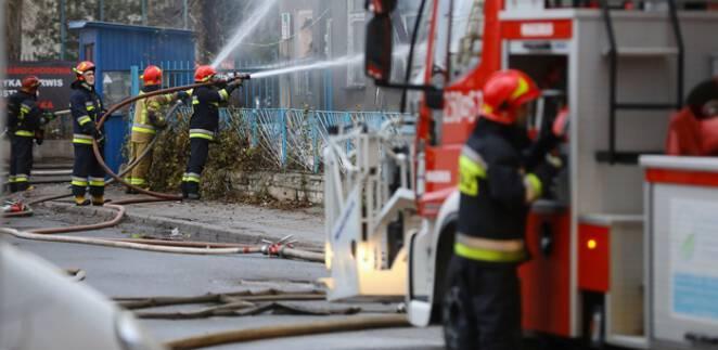 Sylwester interwencje straży pożarnej