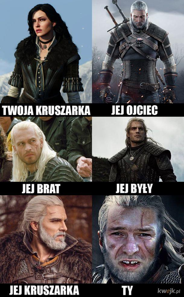 Wiedźmin memy