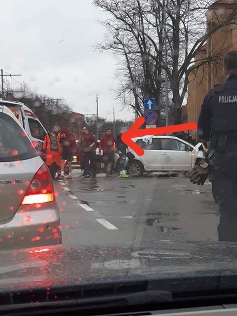 Wypadek piłkarzy Pogoni Szczecin