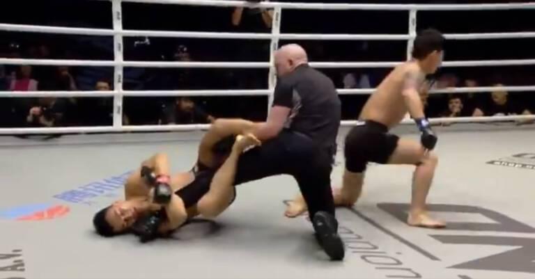 Zawodnik MMA zaatakował sędziego