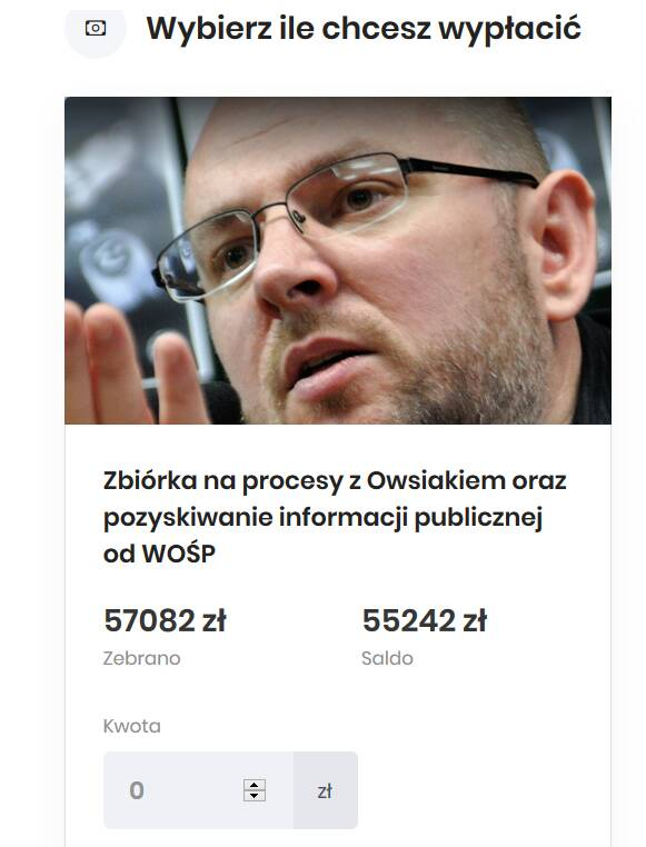 Znany bloger oskarża Owsiaka