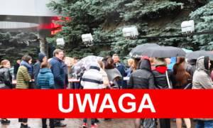 ewakuacja banku w Katowicach