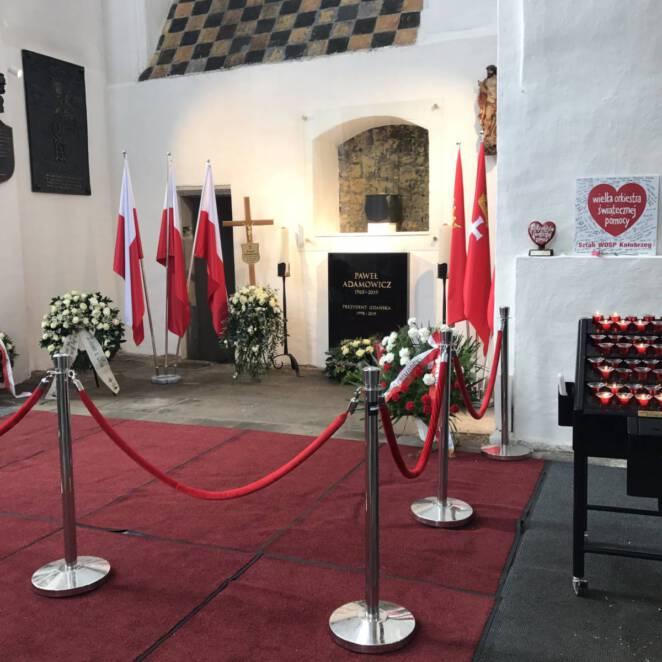 grób Pawła Adamowicza 2
