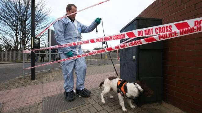 potrójne morderstwo w Londynie 2