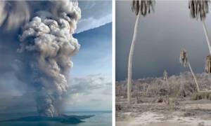 wybuch wulkanu na Filipinach