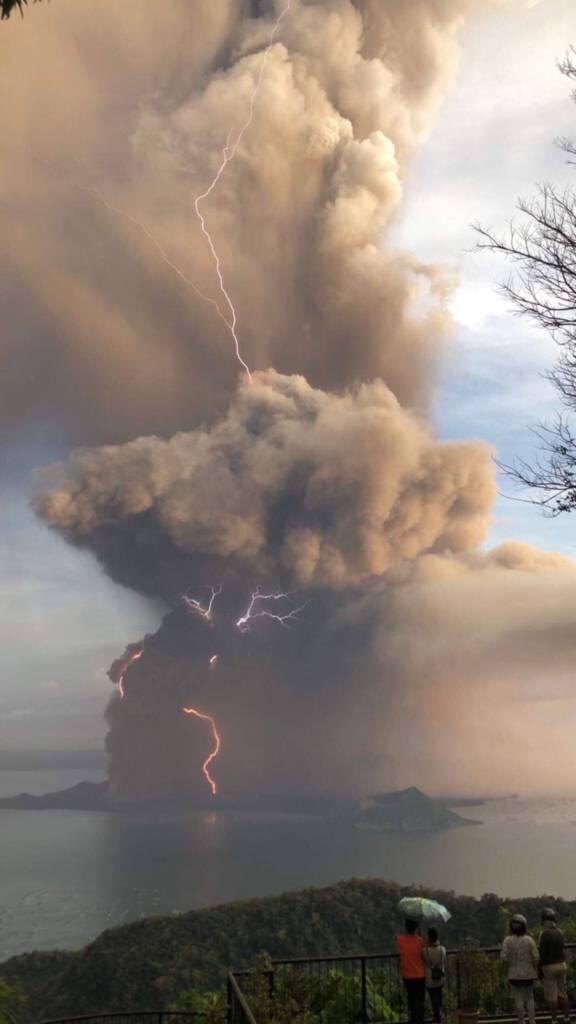 wybuch wulkanu na Filipinach 2