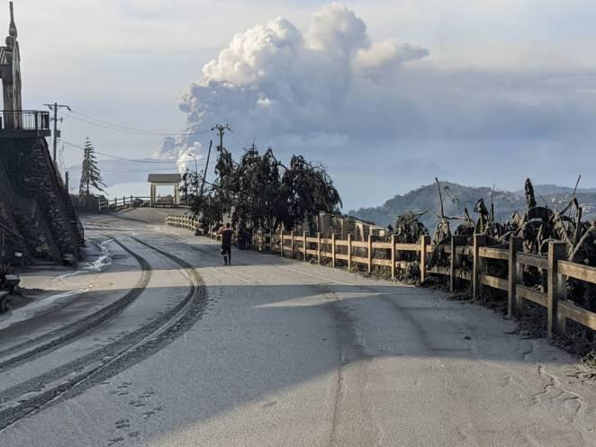 wybuch wulkanu na Filipinach 5