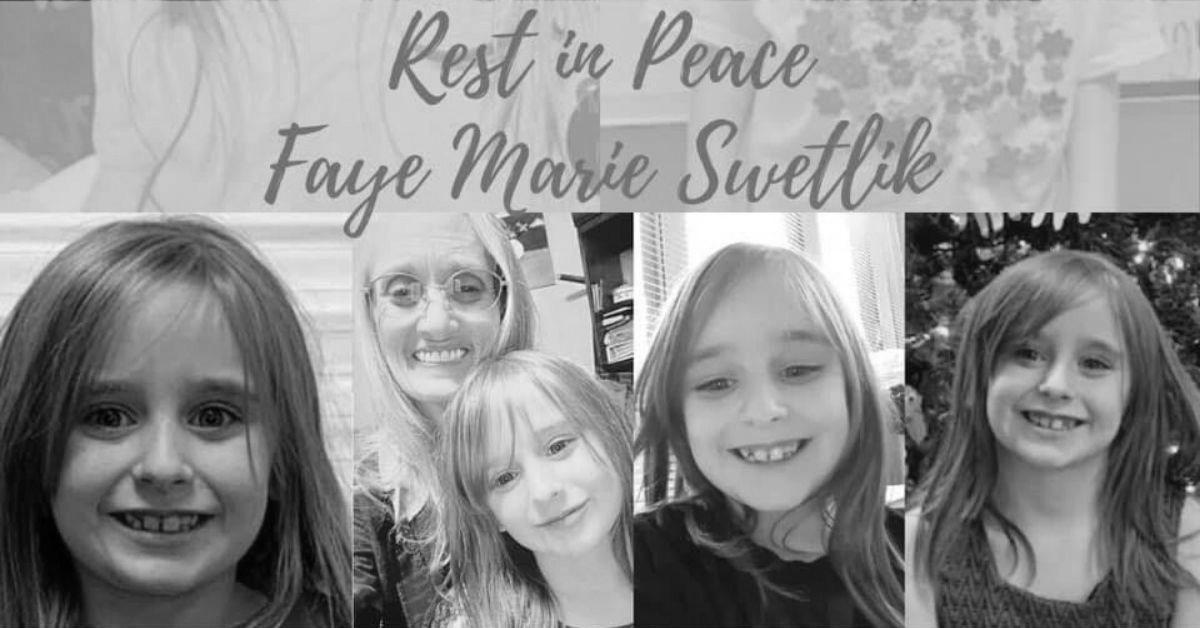 6-latka Faye Swetlik nie zyje