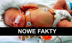 8-miesięczny niemowlak z obrażeniami