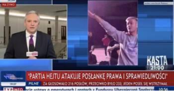 Biedroń krytykuje TVP