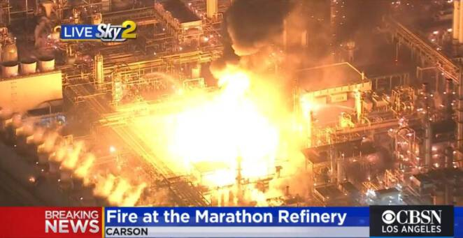 Eksplozja w rafinerii