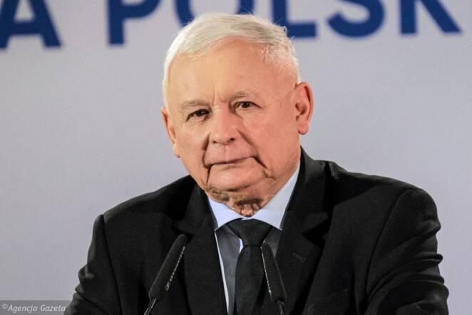 Jarosław Kaczyński w Krakowie