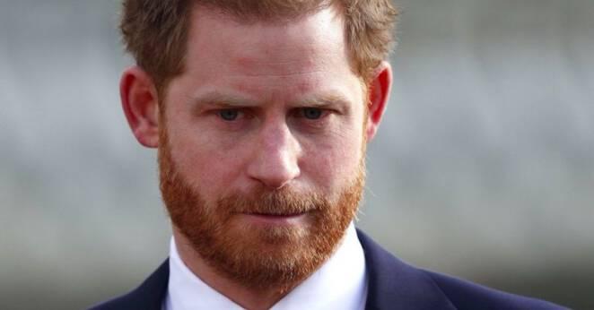 Książę Harry w żałobie