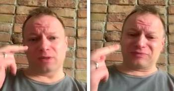 Maciej Stuhr parodiuje Lichocką