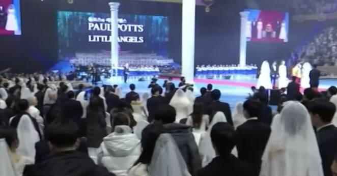 Masowy ślub w Korei
