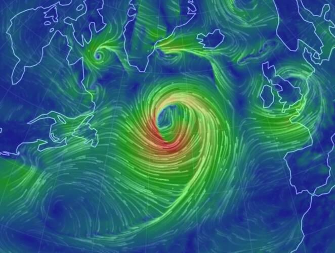 Nadciąga potężny cyklon Dennis
