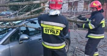 Orkan Sabina w Polsce