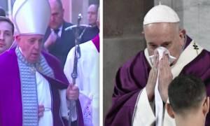 Papież Franciszek jest chory