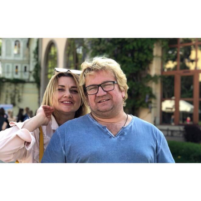 Paweł Królikowski i Małgorzata Ostrowska-Królikowska