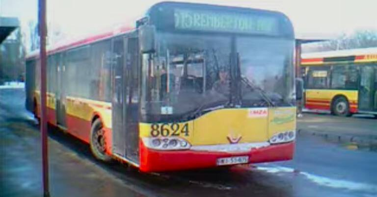 Pijany 13-latek jechał autobusem