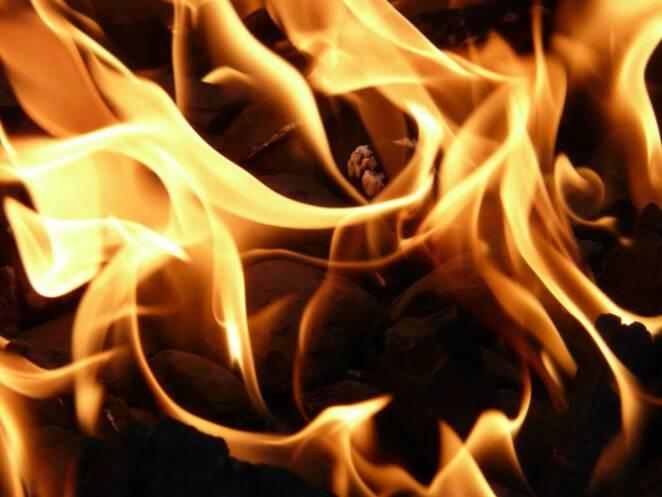 Pożar mieszkania w Kielcach