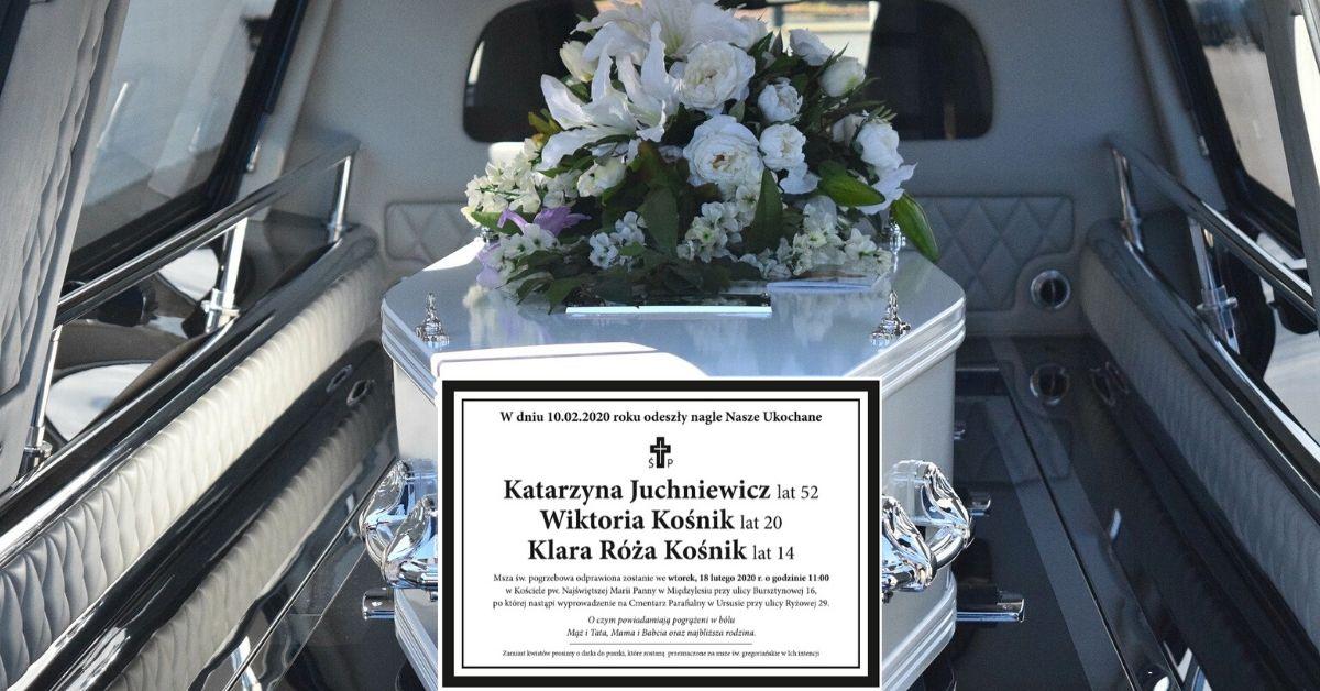 Pogrzeb ofiar wypadku w Bukowinie