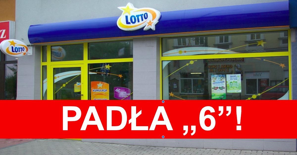Szóstka w LOTTO trafiona w Łomży