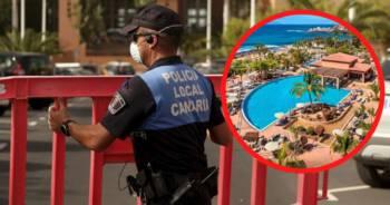 Turyści zamknięci w hotelu na Teneryfie