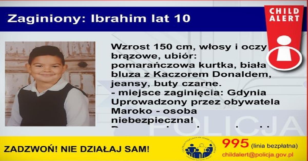 Uprowadzenie 10-letniego Ibrahima