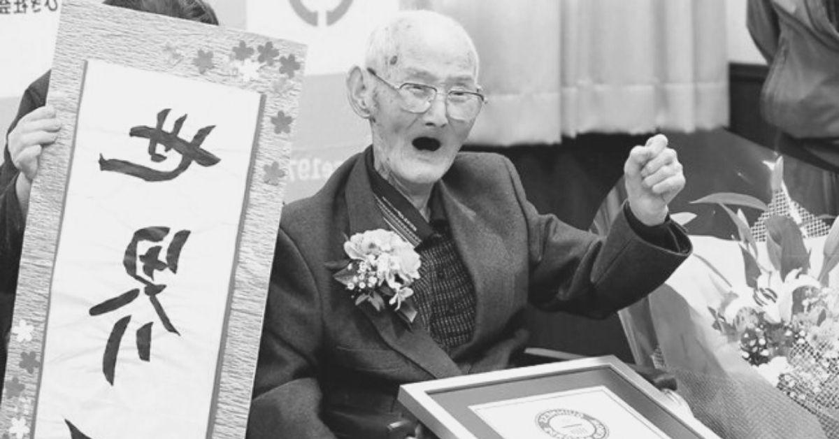 Zmarł najstarszy mężczyzna świata