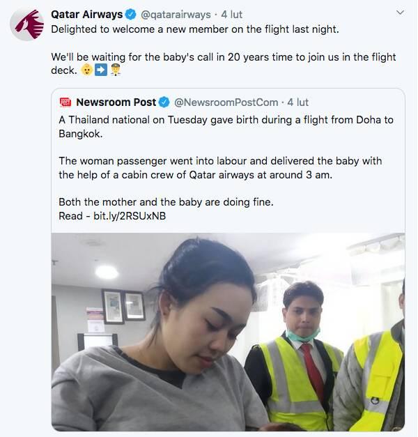 Poród w samolocie