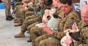 Australijscy żołnierze