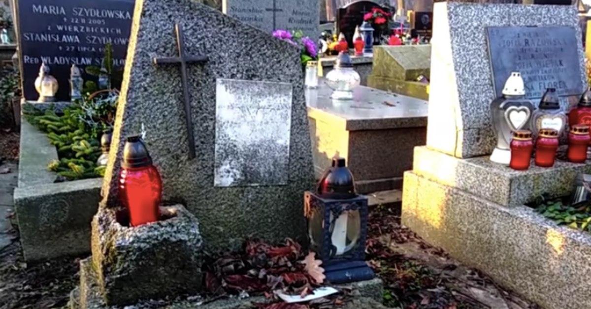 grób syna Hańczy