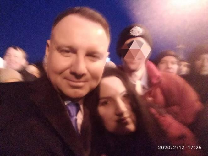 Jolanta publikuje zdjęcia z prezydentem