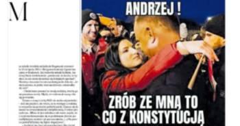 Jolanta Rosiek nie prześladuje prezydenta