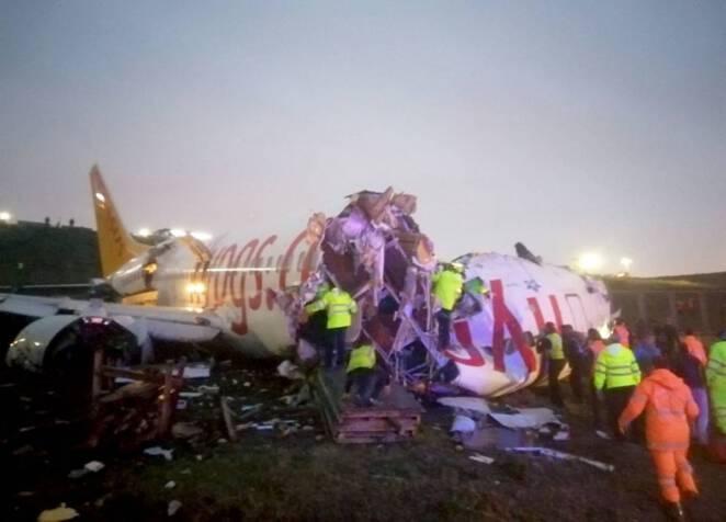 katastrofa samolotu w Turcji
