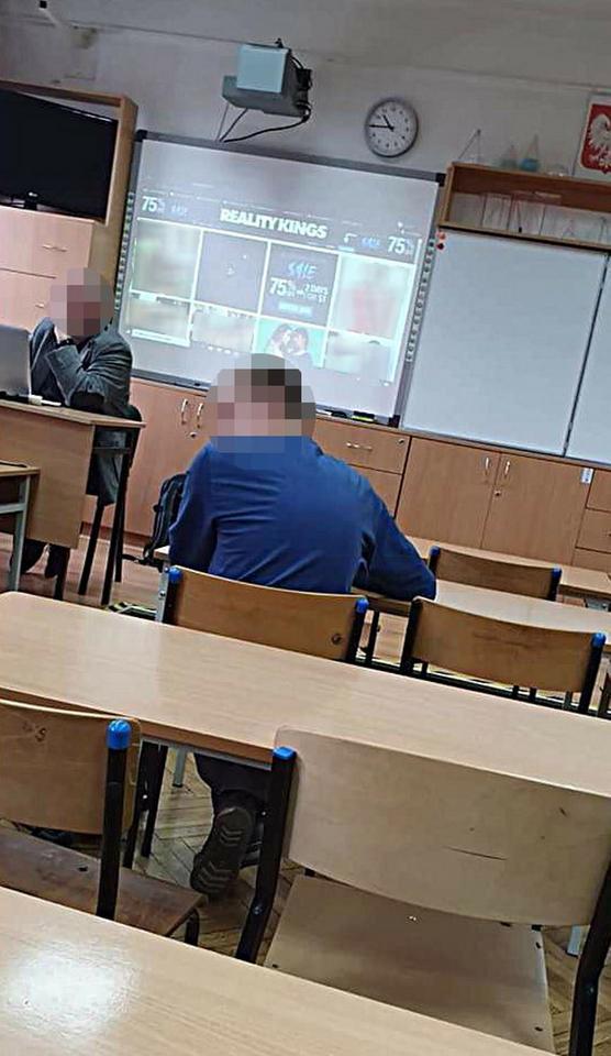 nauczyciel oglądał pornografię 2