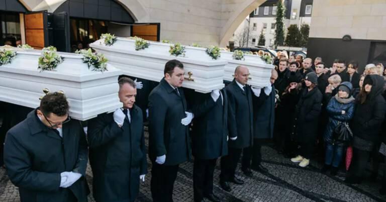 pogrzeb ofiar z Bukowiny