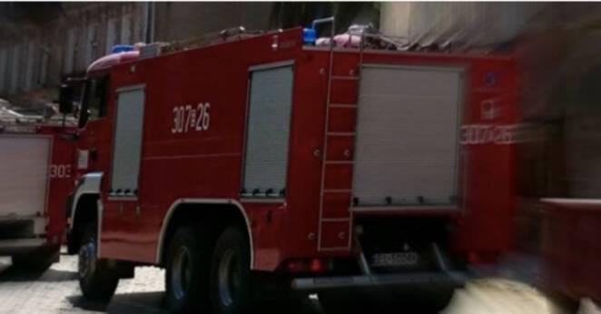 strażacy uratowali ciężarną