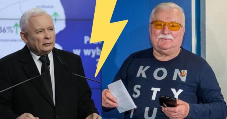 Wałęsa kontra Kaczyński